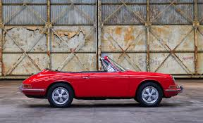 porsche sedan convertible for sale first ever porsche 911 cabriolet going up for auction