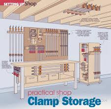 85 best clamp racks images on pinterest tool storage garage
