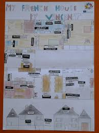 floor plan in french my house in french and in english home sweet home erasmus