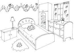 dessin chambre d enfant chambre enfant coloriage idee dessin