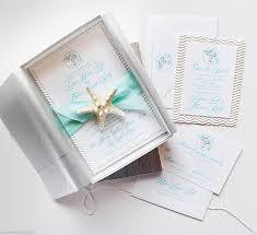 starfish wedding invitations wedding invitations florida destination wedding invitations