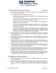 investigator u0027s brochure template free download
