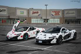 mclaren p1 custom paint job deadmau5 u0027 newly wrapped p1 and 650s in ontario this weekend oc