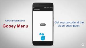 android library android library gooey menu demo