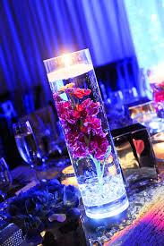 Lights In Vase Waterproof Led Tea Lights Tabletop Floating Candles And Glow Sticks