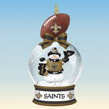 new orleans saints snow globe ornaments your 1st one is free
