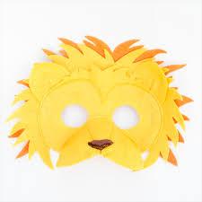 lion mask lion mask book week lion costume felt mask schooza