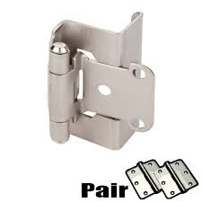 3 8 overlay partial wrap cabinet hinges hardware resources shop searching for cabinet hinges