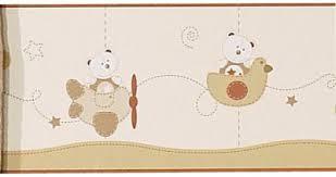 frise murale chambre bébé sauthon frise murale adhésive caramel made in bébé