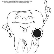 dental health coloring sheets google search preschool crafts