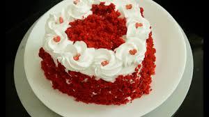 red velvet cake in cooker eggless red velvet cake easy homemade