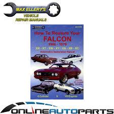 restoration manual book falcon xr xt xw xy xa xb xc how to restore