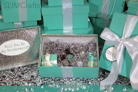bridesmaids boxes 3 silver glam bridesmaid bridal party keepsake gift