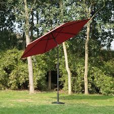 Aluminum Patio Umbrella by Outsunny 9ft Aluminum Patio Umbrella Garden Outdoor Parasol