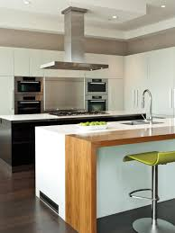 Large Kitchen Cabinet Sleek And Simple In The Kitchen Hgtv