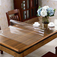 dining table cover clear table protector ebay