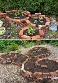 Creative Brick Patio Design With Pergola Tub Seat Walls And by Best 25 Brick Planter Ideas On Pinterest Garden Ideas With