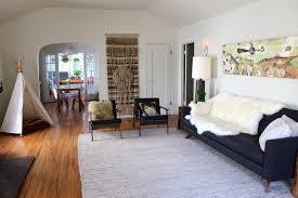 Apartment Therapy Living Room Office Carrie U0026 Hal U0027s Modern Bohemian Home U2014 House Tour Modern Bohemian