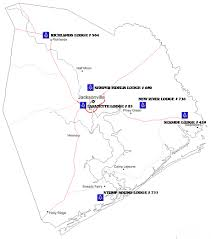 Camp Lejeune Map Onslow County Masons