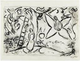 the jacob u0027s dream by marc chagall pictify your social art network
