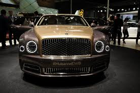 one of 50 bentley mulsanne first editions lands in china