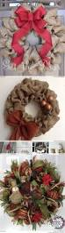 burlap christmas wreaths sue patsy phoebie craft ideas