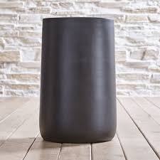 tall outdoor planters crate and barrel