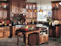 rustic kitchen design ideas ideas classic decoration and wood material for rustic kitchens