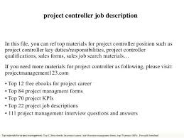 project controller importance and benefits of good project