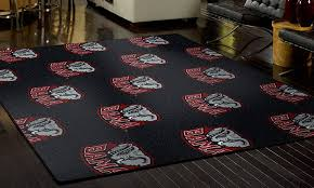 rugs with team logos my sports rug groupon