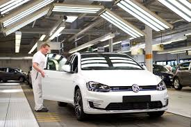 volkswagen wolfsburg vw golf production to be halted due to supplier dispute