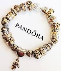 bracelet pandora gold images Pandora gold bracelet ebay JPG