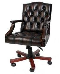 Traditional Leather Armchairs Uk Best 10 Real Leather Home Office Chairs Compared Uk