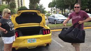 mustang convertible trunk mustang convertible boot space