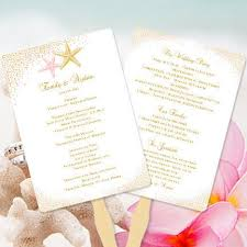 Fan Wedding Program Kits Wedding Program Fans Templates For Diy Ceremony Fan Wedding
