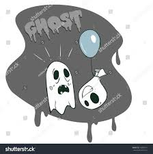 vector ghosts cartoon ghosts stock vector 192698711 shutterstock