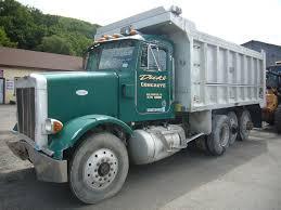 1995 peterbilt 357 tri axle dump truck for sale by arthur trovei
