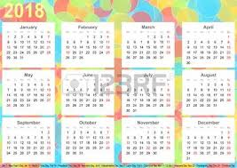 Kalender 2018 Helgdagar Mkabeck 1 Royalty Fria Foton Bilder Symboler Och Stockfotografi