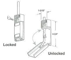 Patio Door Bolt Lock To Install A Sliding Patio Door Bolt Lock
