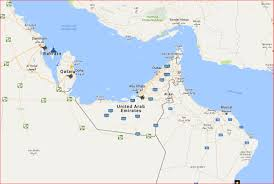 The United States And Canada Map by Us Military Bases In Qatar On Map