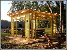 Lattice Patio Covers Do Yourself Free Standing Lattice Patio Cover Plans Patios Home Decorating