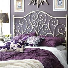 White Wrought Iron King Size Headboards by Headboard Black Iron Scroll Headboard Iron Scroll Headboard