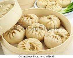 cuisine vapeur asiatique chignons cuit vapeur chinois cuit vapeur viande baozi image