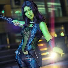 gamora costume aliexpress buy guardians of the galaxy gamora