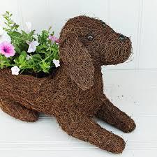 labrador puppy planter by marquis u0026 dawe notonthehighstreet com