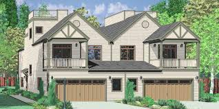 Narrow Lot House Plans With Rear Garage Duplex House Plans Corner Lot Duplex House Plans Narrow Lot