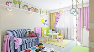 Kids Room Kids Room Wall Decor Features Creative Yellow Zig Zag - Alphabet wall decals for kids rooms