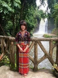 tribal dress wearing t boli s tribal dress picture of lake sebu seven falls