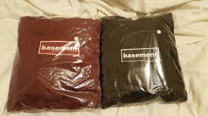 the basement the basement box logo pullover size m for sale