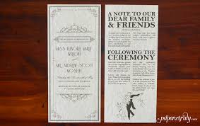 Newspaper Wedding Program Wedding Archives Page 3 Of 4 Paper Truly
